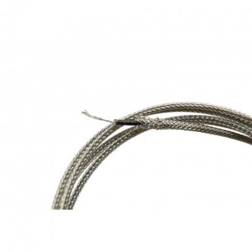 Silver Braided Gibson Wire - 2 Ft.