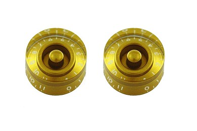Speed Knob Set - Gold