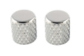 Heavy Knurl Barrel Knobs - Chrome
