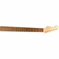 Strat Neck with Rosewood Fingerboard - Clear Gloss Finish - Left